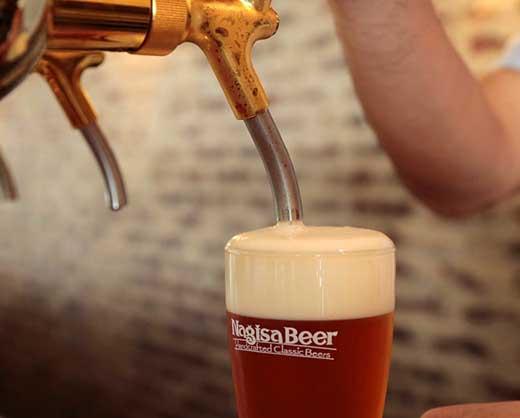 ナギサビールの定番商品2種(330ml×6本)飲み比べセット