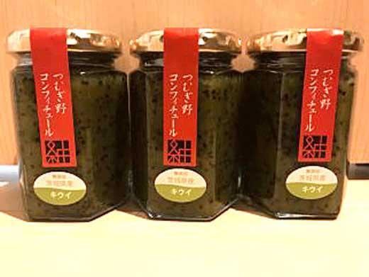 酒蔵が生産する無添加キウイフルーツジャム12本セット