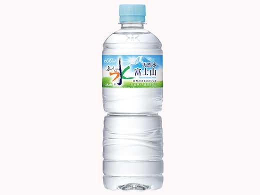 アサヒおいしい水 富士山600ml24本