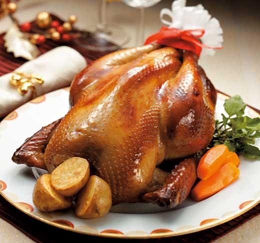 【ボリューム満点】地鶏丹波黒どり贅沢ローストチキン
