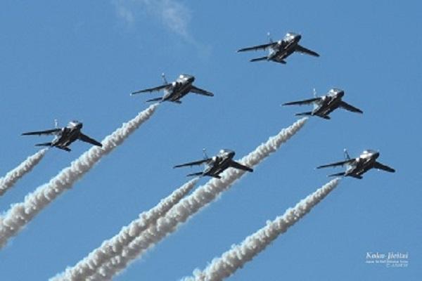 南紀白浜空港開港50周年記念 ブルーインパルス展示飛行観覧席