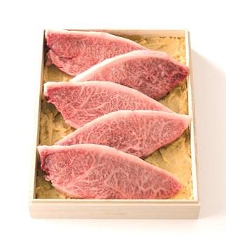 米沢牛モモ・肩味噌粕漬モモ・肩計500g(5枚入)