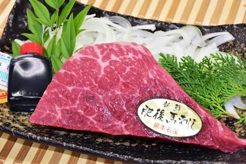 """熊本の""""うまか""""馬刺しを高田精肉店よりお届け!"""
