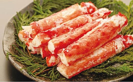 <網走産>冷凍イバラガニむき身 棒肉 1袋