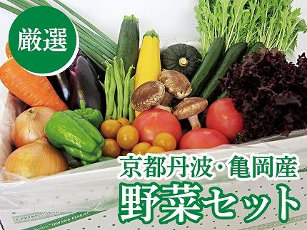 京都丹波・亀岡産野菜セット