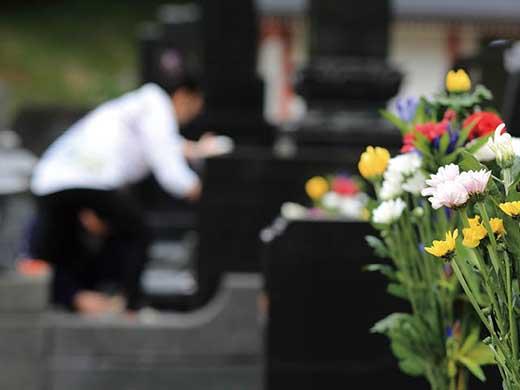 お墓のお掃除代行(供花あり)