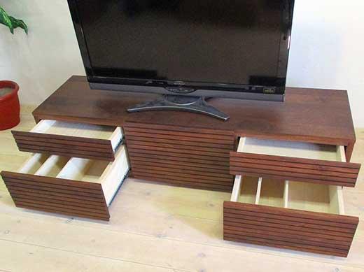 風雅テレビボードテレビ台W1500タイプ2ウォールナット