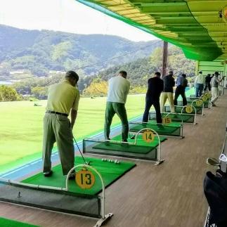 ゴルフ練習場打ち放題券(3回分)