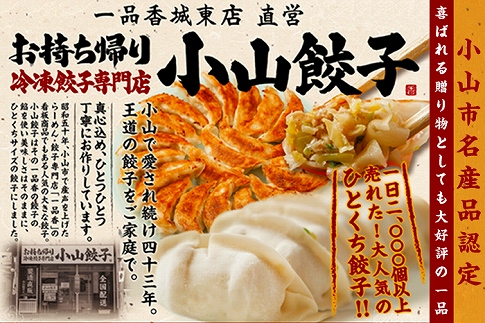 ★クレジット限定★【月間20セット限定】小山餃子 餃子Sセット(全45個)