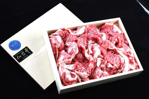 栗原産仙台牛切り落としバラ 1kg