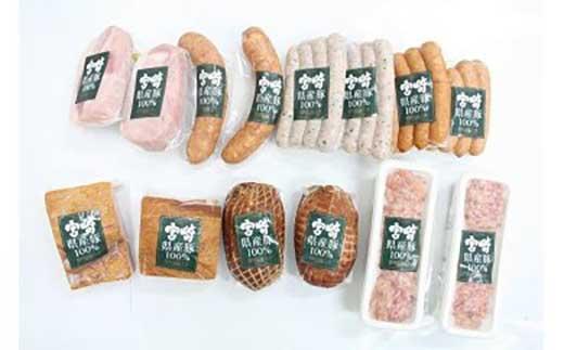 宮崎県産豚ハムCセット