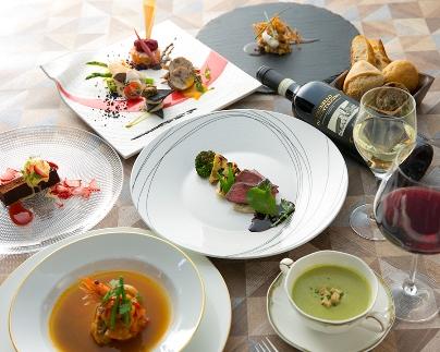 【ギフト用】フランス料理店【ル・フルドヌマン櫻町吟】シェフおまかせコース・ペア券