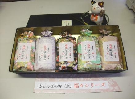 令和元年産新米【赤とんぼの舞(米)福々シリーズ】福勝福々舞(米)5個セット