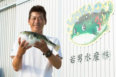 【若男水産】【淡路島3年とらふぐ】竹 ふぐ鍋 刺身セット(3~4人前)