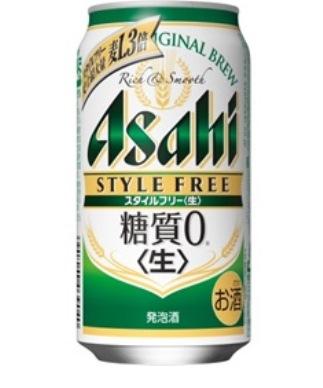 『糖質0』アサヒスタイルフリー350ml(2ケース)