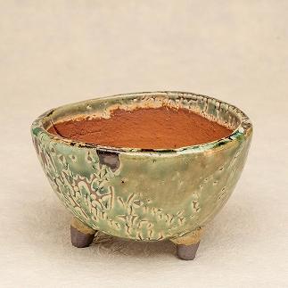 植木鉢(緑)