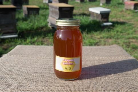みずなみ高原で採れた天然無添加非加熱の熟成ハチミツ(ソヨゴ1kg)