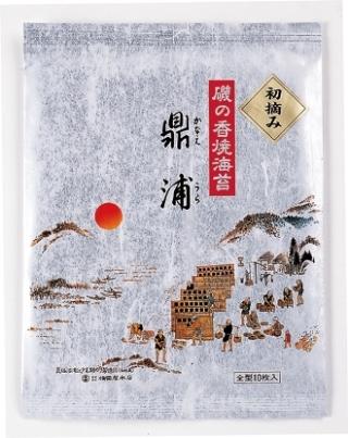 焼のり鼎浦初摘み10帖黒上箱入