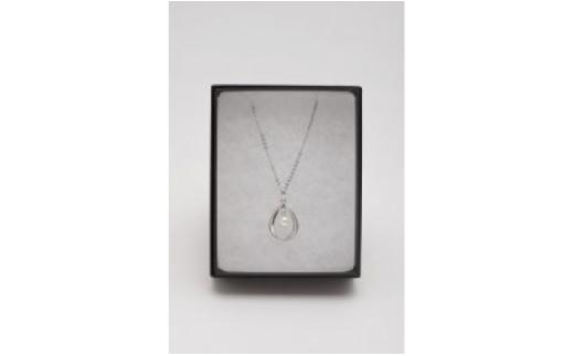 アコヤ真珠7ミリ珠 シルバーペンダント(ゆったり45cm)