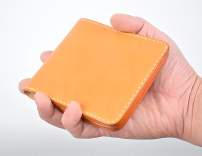 minca/Half wallet 01/BROWN