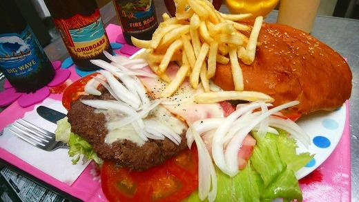 【お食事券】横須賀地産地消にこだわった!超ビッグバーガー&横須賀ドリンク付!!