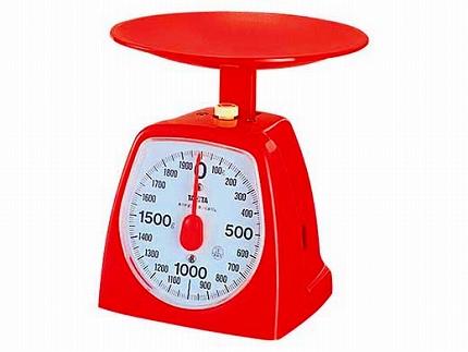 【1439RD2kg】タニタ クッキングスケール