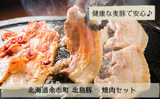 北島農場「北島豚」焼肉セット(ロース、肩ロース、バラ)