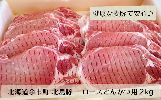 北島農場「北島豚」ロースとんかつ用 2kg
