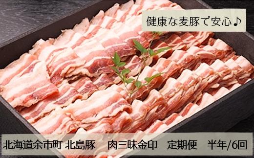 北島農場「北島豚」肉三昧金印【定期便】毎月お届け半年/6回