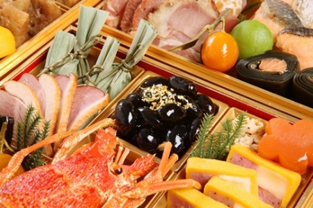 亀岡市ふるさと納税限定 京都 三千院の里 和風おせち4段重
