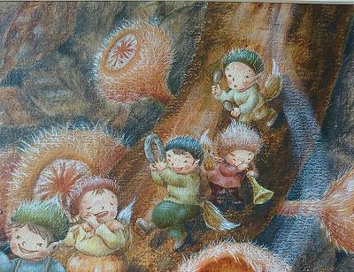 シロキツネノサカヅキと妖精たち