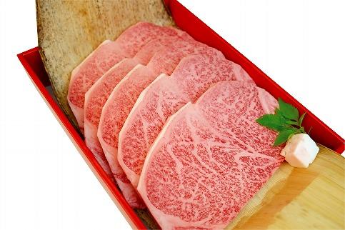 近江牛A5ランクロースすき焼・サーロインステーキセット