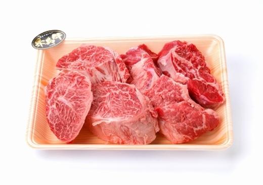 (まるごと糸島)A4ランク糸島黒毛和牛スネ肉煮込み用ブロック約1キログラム