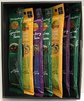 糸島産厳選小麦使用!色彩豊かなスーパーフードパスタ(7個)ギフトセット