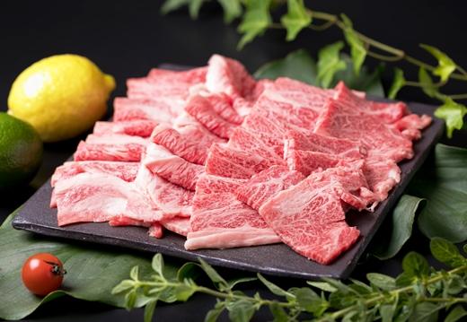 (まるごと糸島)A4ランク糸島黒毛和牛焼肉用スライス1kg
