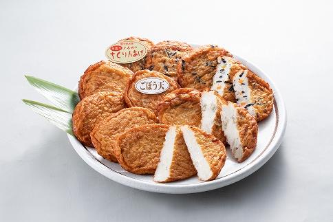 厳選芋焼酎・さつま揚げセットD