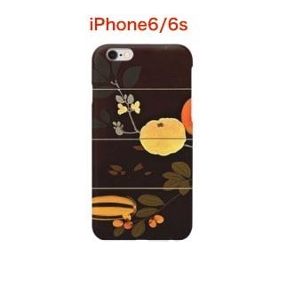 漆藝iPhoneケース 柴田是真 果蔬蒔絵重箱