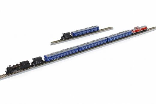 東武鉄道復活蒸機!SL「大樹」車両セット