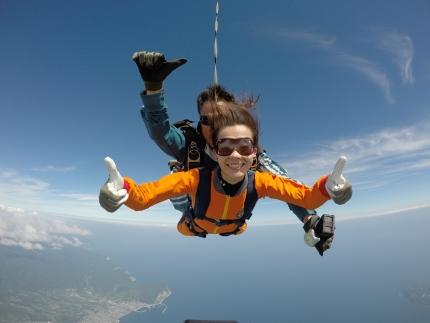 富士山より高い高度からのダイブ!」 スカイダイビング利用権利 大人1名様分1000ポイント