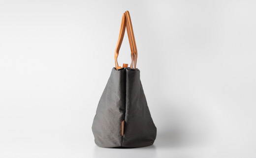 豊岡鞄 トートバッグM (グレー)TUTUMUMarcheM (S2200 24-157)