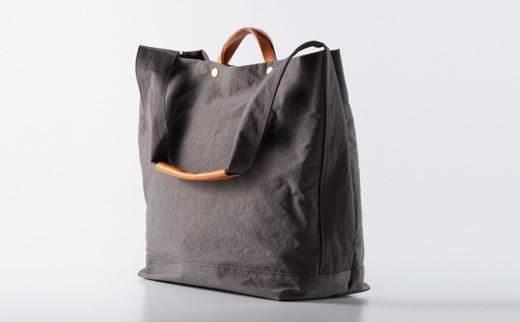 豊岡鞄 2WAY トート (グレー)TUTUMUNewspapertote (S2000 24-152)