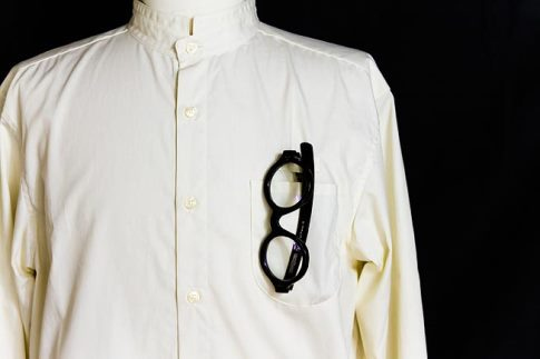 TRAILER glasses pocket shirtー生成り色ー(Sサイズ)