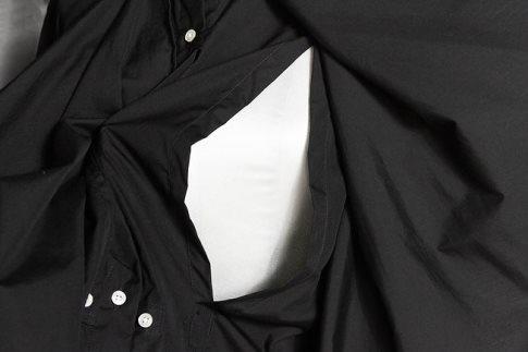 gogakuchemiseetbebelongー黒色ー授乳用スリット付き(Mサイズ)