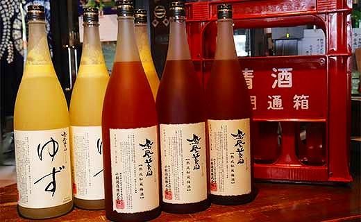 ★数量限定★<大満足!6本セット>鳳凰美田ゆず酒(3本)・梅酒一升瓶(3本)