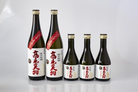 東京・八王子産米100%の地酒「髙尾の天狗」720ML×2本 300ML×3本