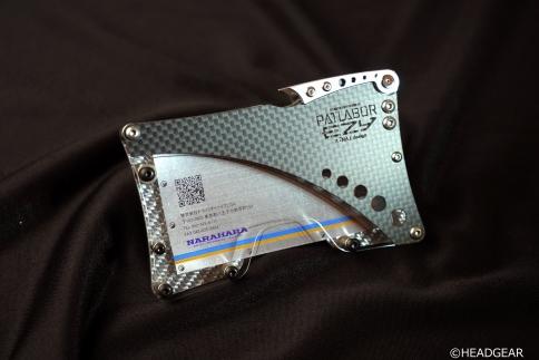 【機動警察パトレイバーEZY 30周年記念】「NA」designPATLABOREZYカードケース