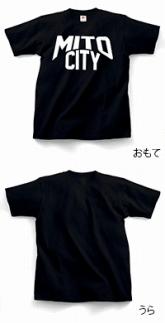 ご当地Tシャツ♪ MITOCITY 【黒】 Sサイズ