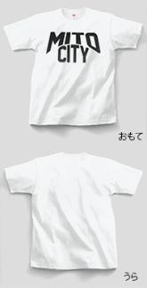ご当地Tシャツ♪MITOCITY【白】XLサイズ