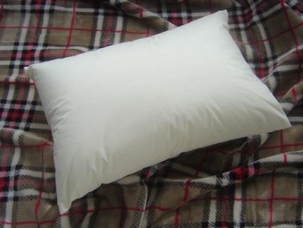 【低め】洗えるダウンピロー(50cmX70cm390g入り)