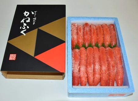 かねふくの明太子(1kg×1箱)